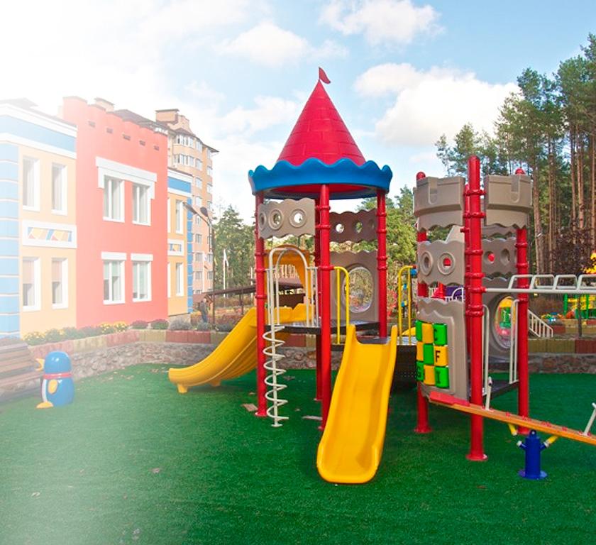 Детский садик в ЖК Суворов Ирпень. Новостройки Ирпеня