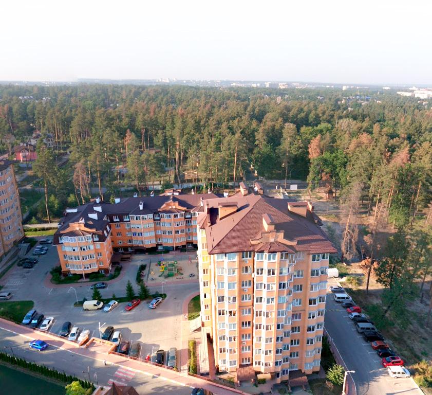 Квартиры в зеленой лесной зоне под Киевом Ирпень ЖК Суворов
